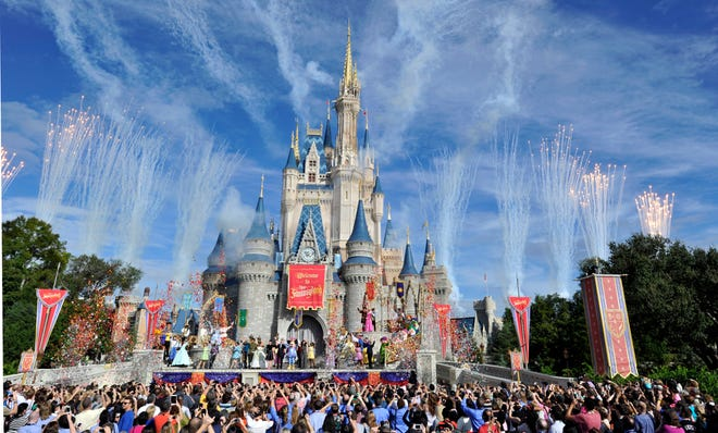 Disney World welcomes your child like sense of wonder. Just not your signs and banners.