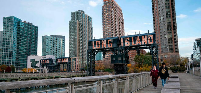 Amazon will split its new headquarters between Long Island City in Queens, N.Y., and Crystal City in Arlington, Va. AFP/Getty Images