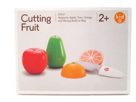 Cutting Fruit kit from Kid O Toys.