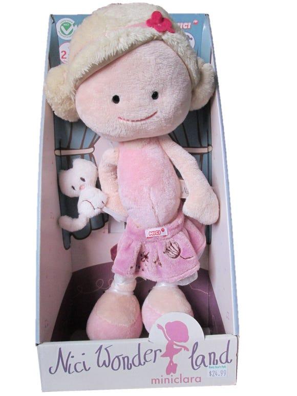 Nici Wonderland Doll: Miniclara the Ballerina