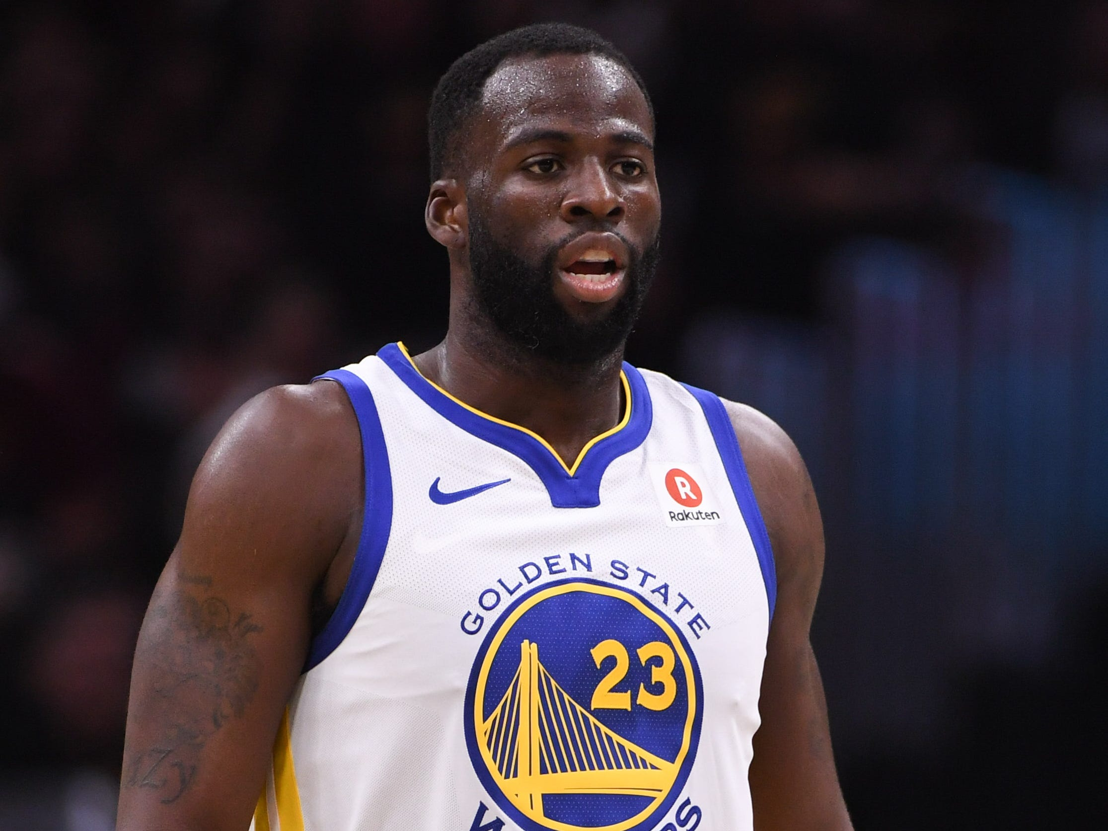 Warriors suspend Draymond Green for confrontation with teammate Kevin Durant