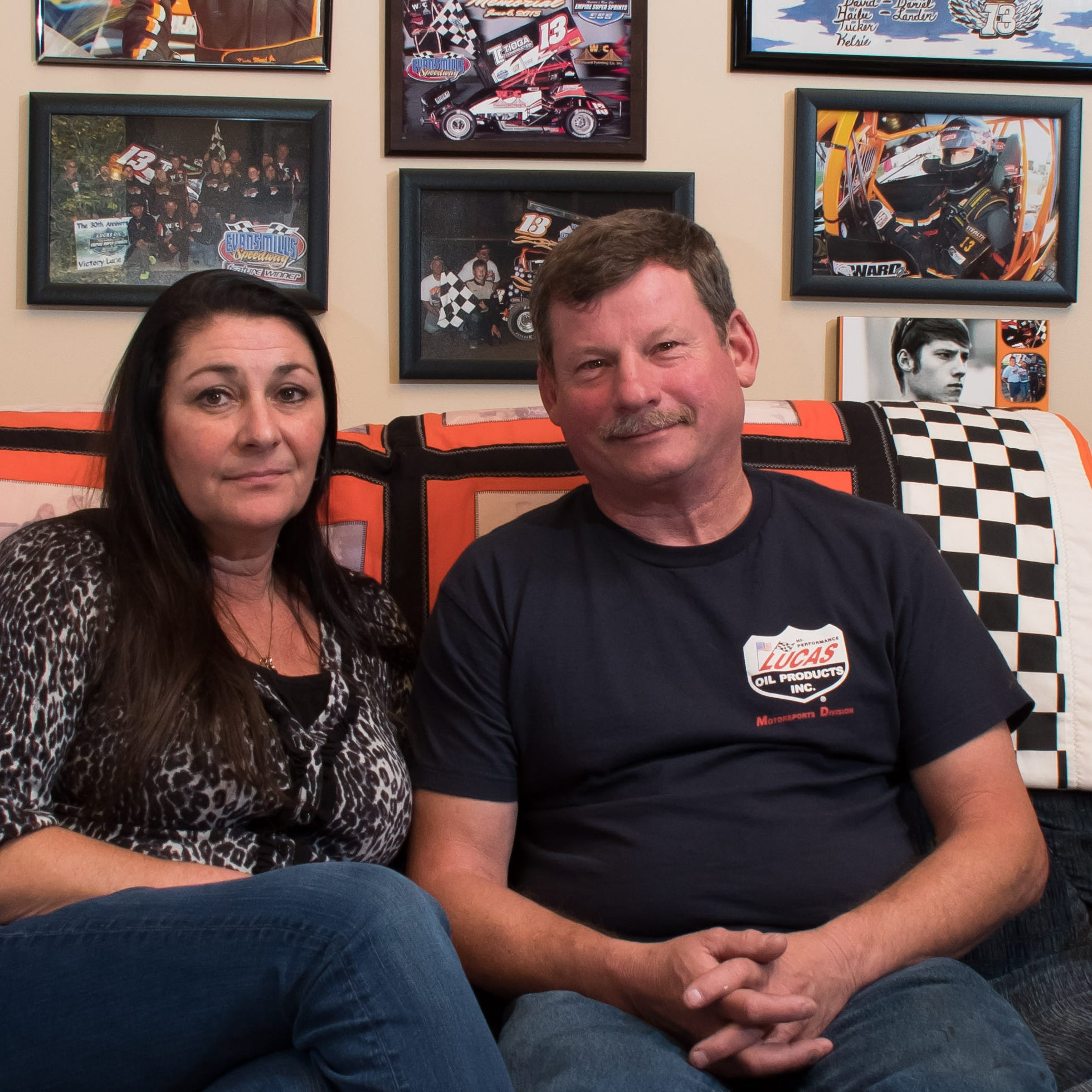 Tony Stewart's deadly collision still has Kevin Ward Jr.'s family off track