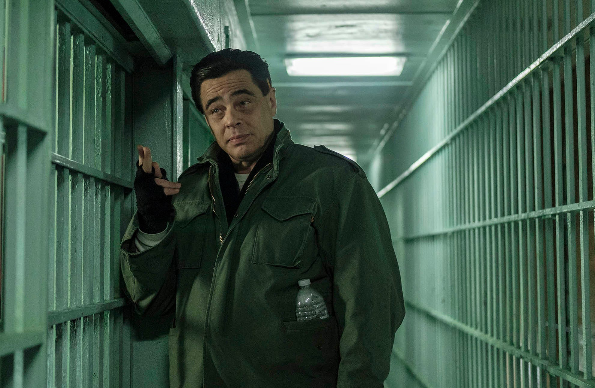 Benicio Del Toro as Richard Matt in Escape at Dannemora (Episode 1).