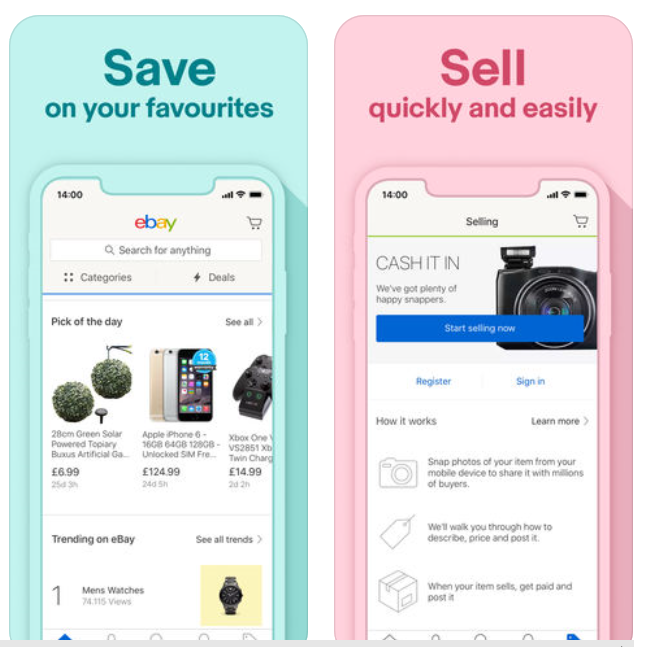 6 Tips For Buying And Selling Stuff On Ebay From Your Smartphone