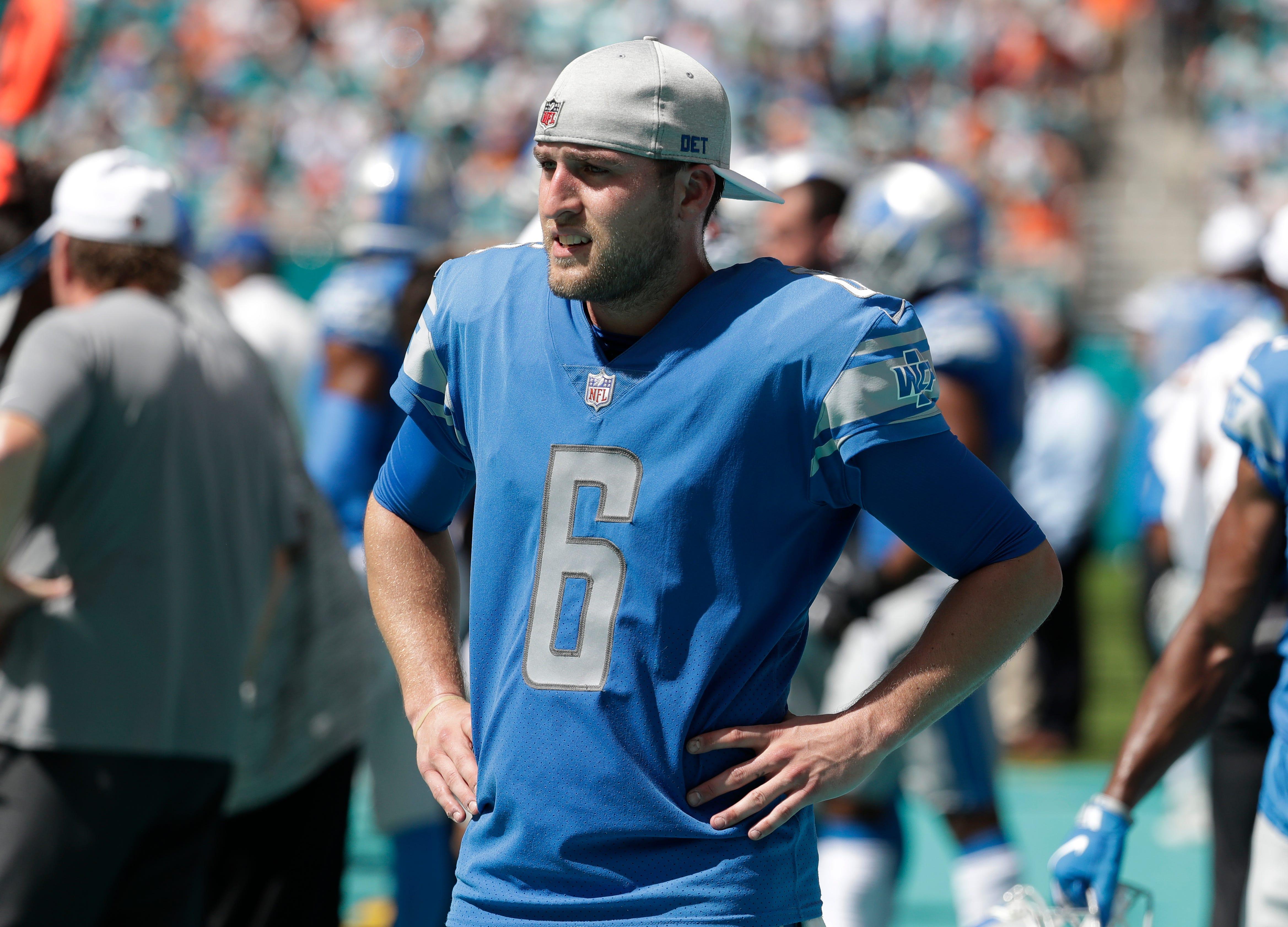 Detroit Lions punter Sam Martin on hospitalization: 'It was precautionary. I'm all good'