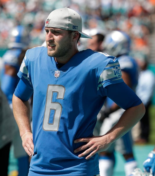 more photos f1e64 46a52 Lions punter Sam Martin after hospitalization: 'I'll be playing'