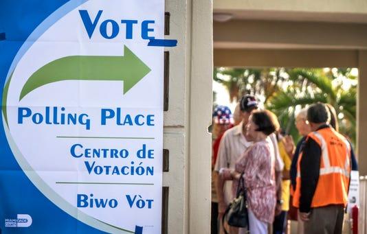 Epa Usa 2018 Midterm Elections Pol Elections Usa Fl