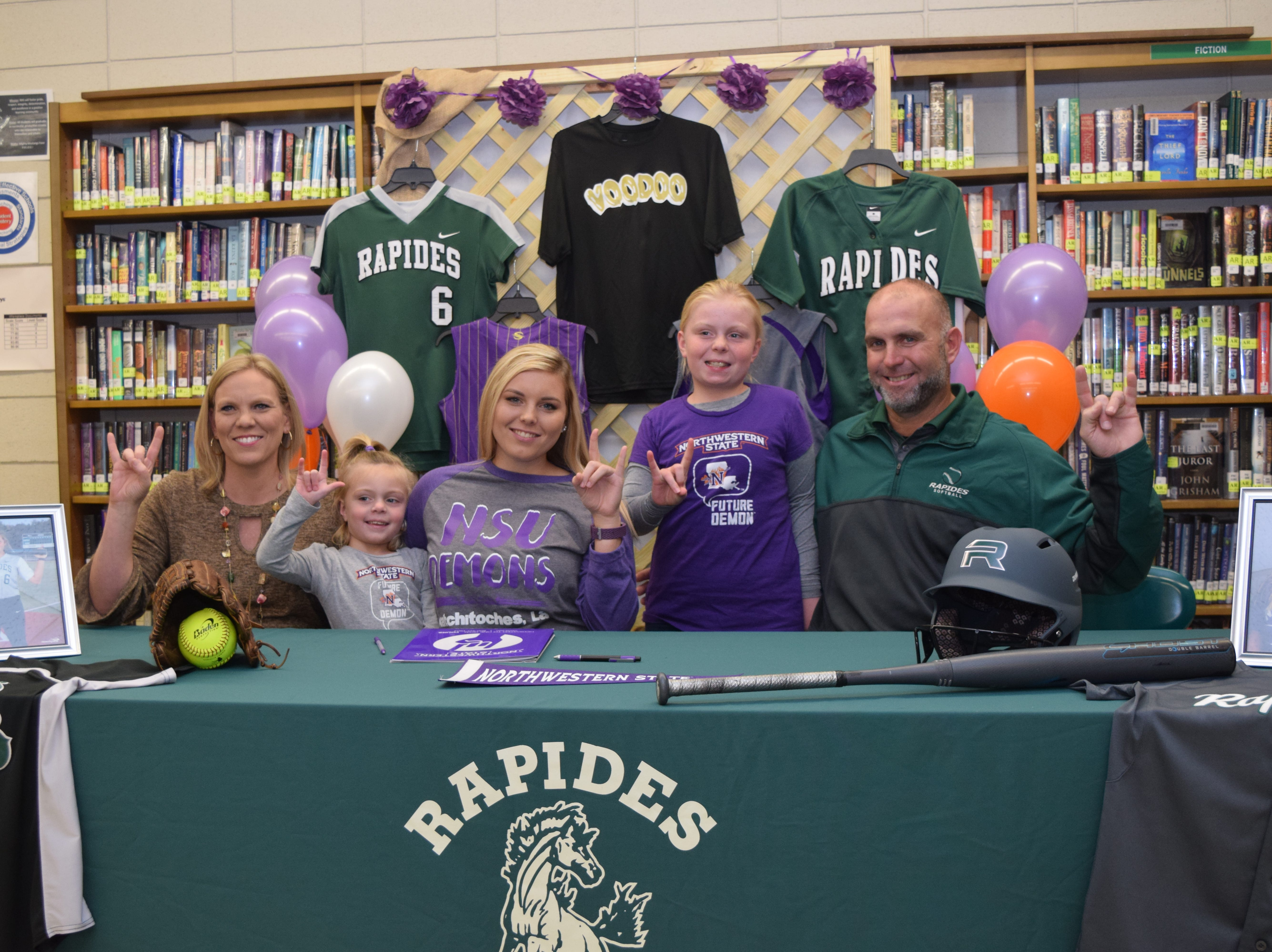 Numerous Cenla athletes sign to colleges on early national signing period