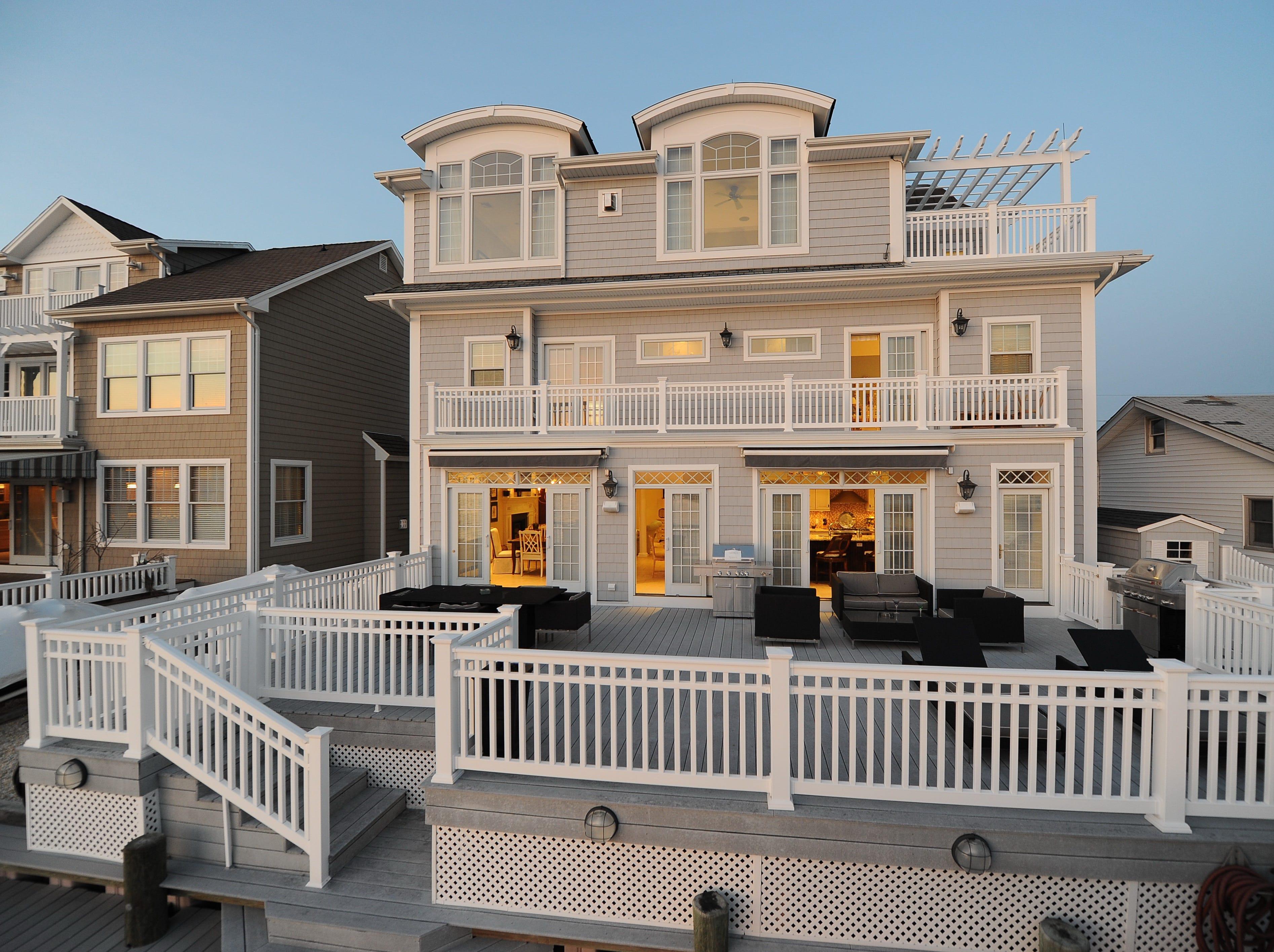 Lavallette custom home features captivating views
