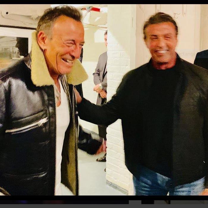 Bruce Springsteen on Broadway: Rambo of Rock meets Sylvester Stallone at the Kerr