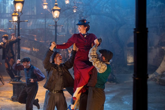"""Emily Blunt is Mary Poppins in Dinsey's original musical """"Mary Poppins Returns"""""""