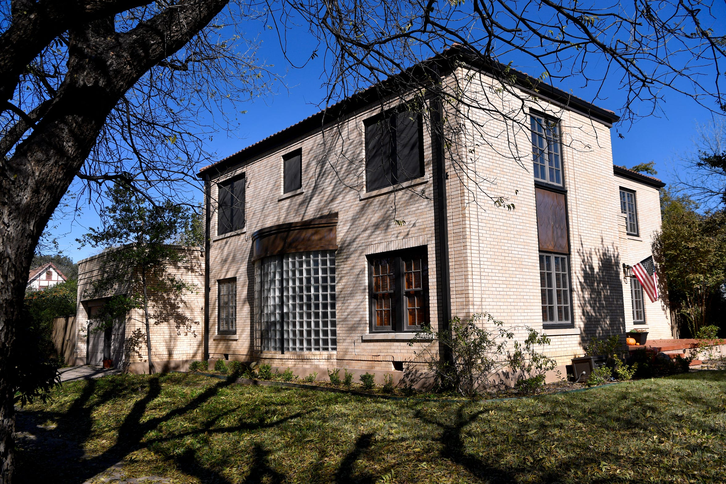 The home at 2142 Idlewild Street, designed by Abilene architect David Castle.