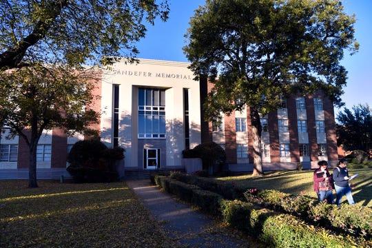 Sandefer Hall at Hardin-Simmons University, designed by late Abilene architect David Castle.
