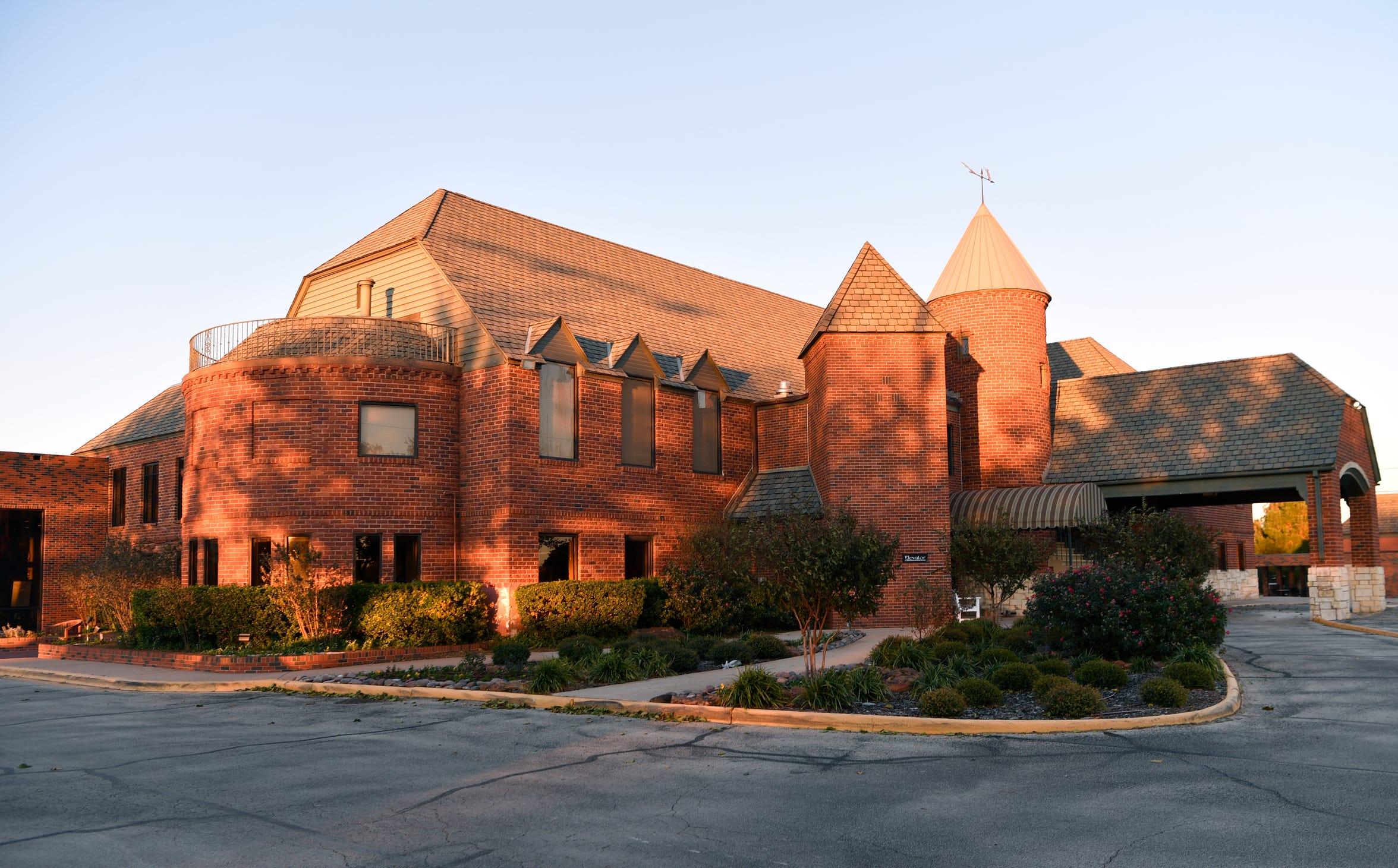 The Abilene Country Club, designed by Abilene architect David Castle.