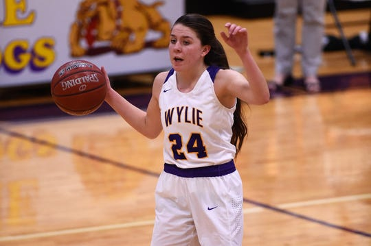 Wylie guard Mary Lovelace (24) is part of an experienced team making its return to the Kids, Inc. Tournament of Champions this weekend. The Lady Bulldogs won the consolation championship last season.