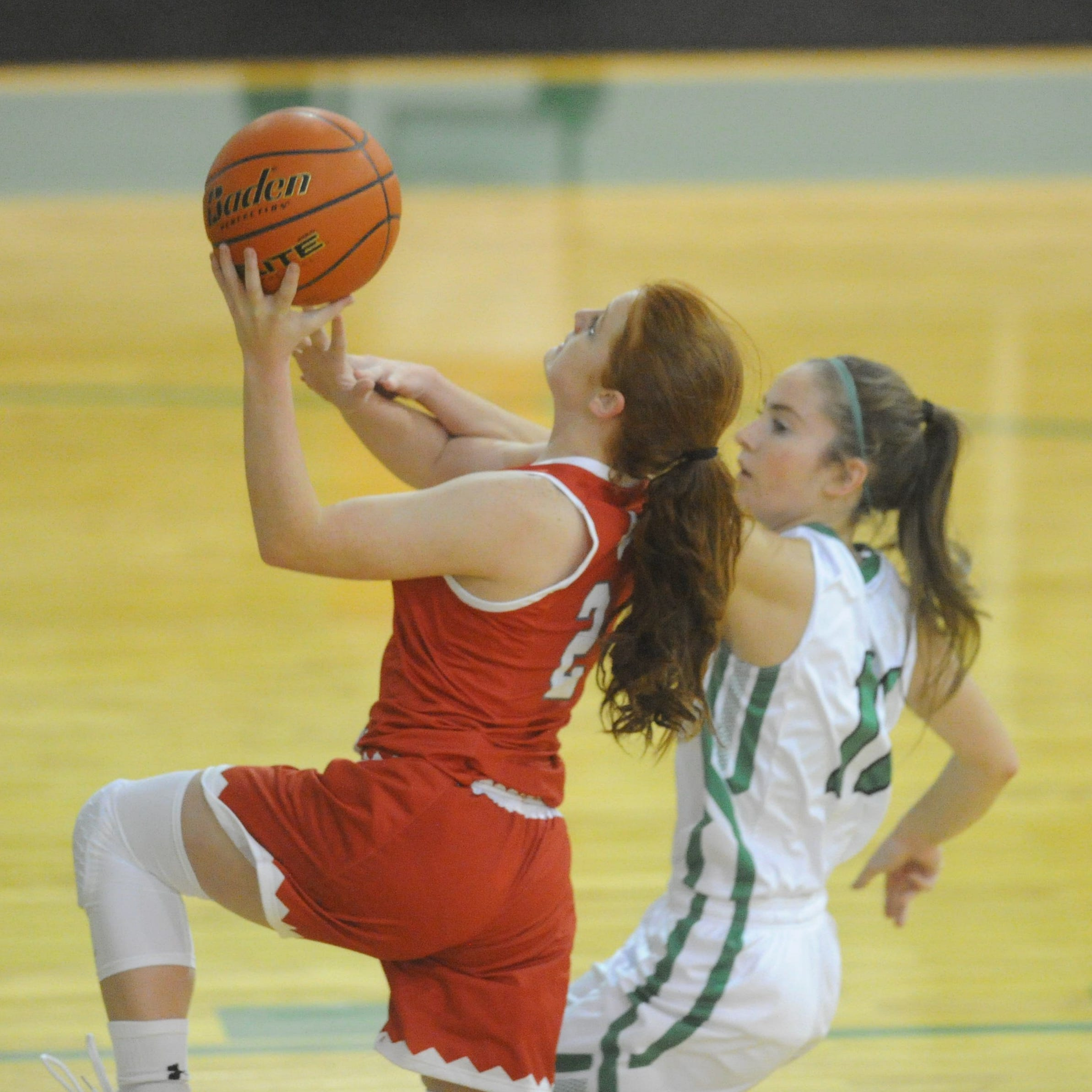 Hermleigh girls basketball holds off Hamlin in early-season battle of 1A ranked teams