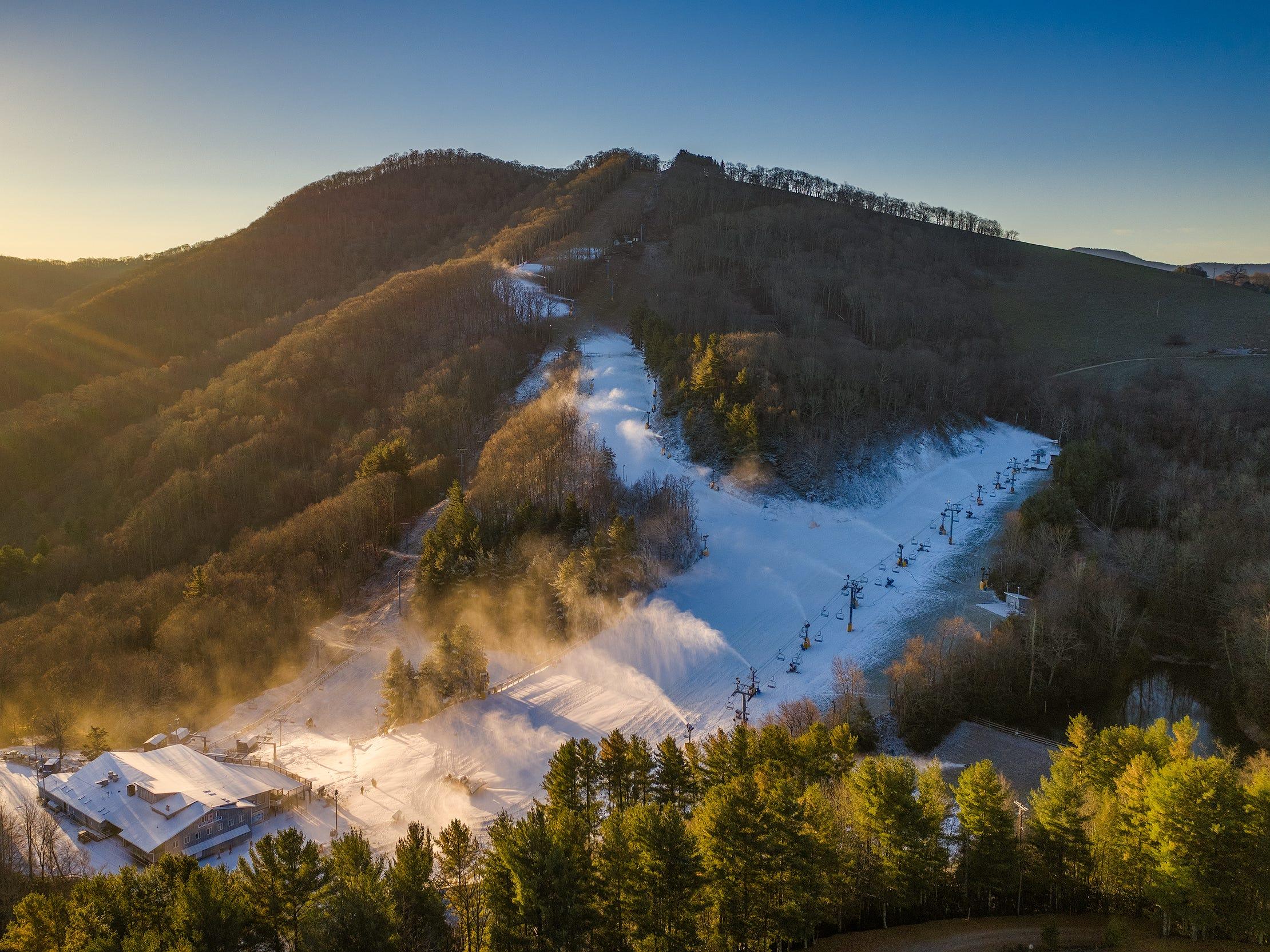 Western North Carolina ski areas struggle to open due to persistent rain
