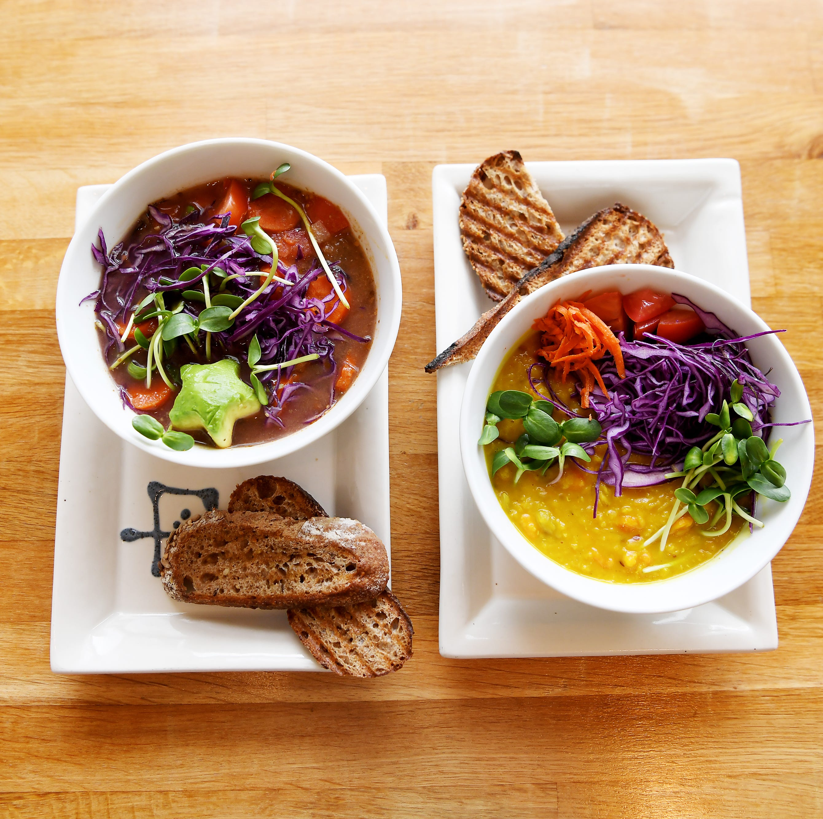 To your health: Try these local restaurants as an antidote to the excesses of the holidays