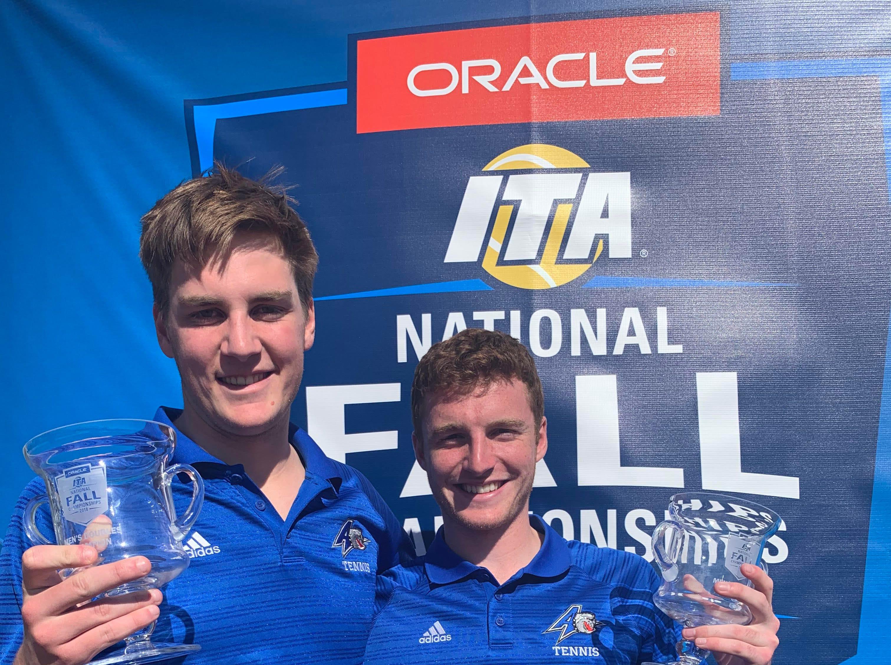 UNC Asheville tennis doubles team wins men's ITA national championship