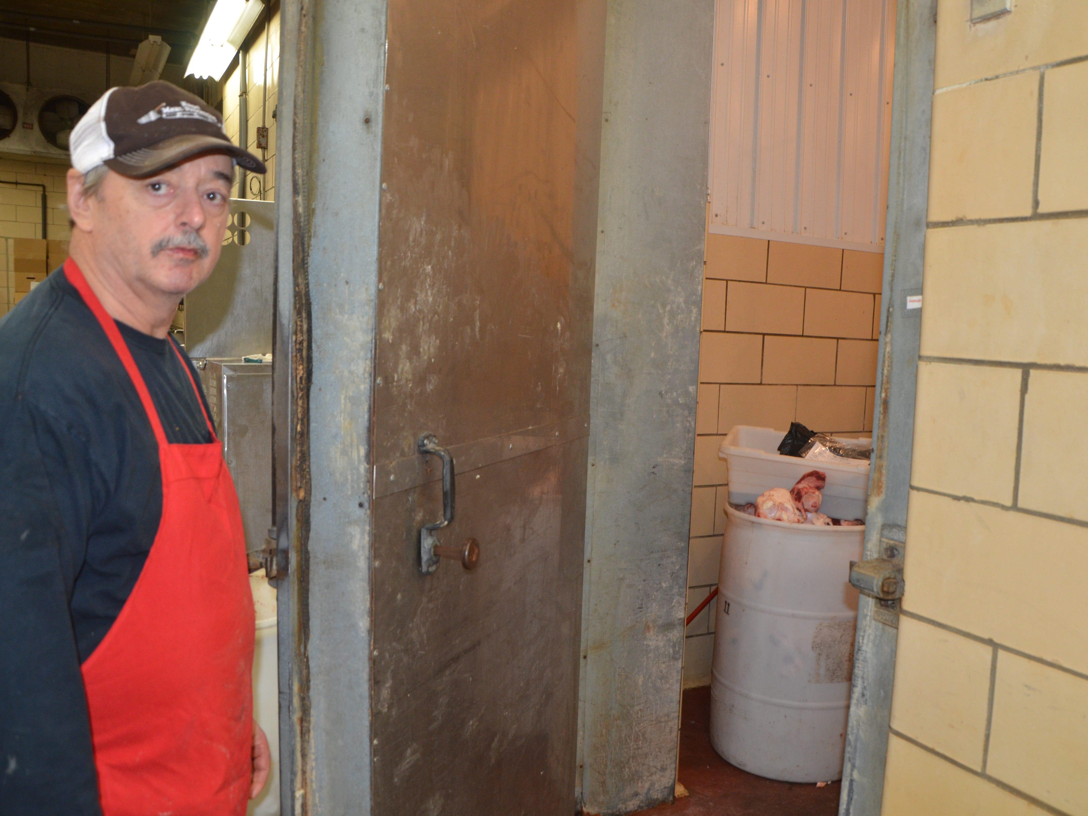 Joe Nagel, owner of Nagel's Meat Processing in Homer.