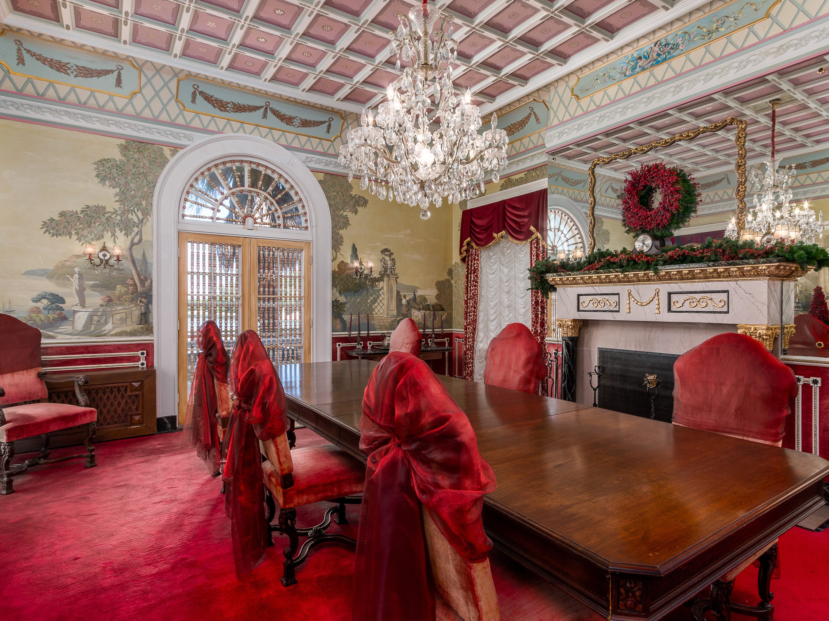 W.K. Kellogg's mansion in Dunedin, Florida, which he bought in 1934, is nearly 8,000 square feet of opulence sitting on around one acre of land.