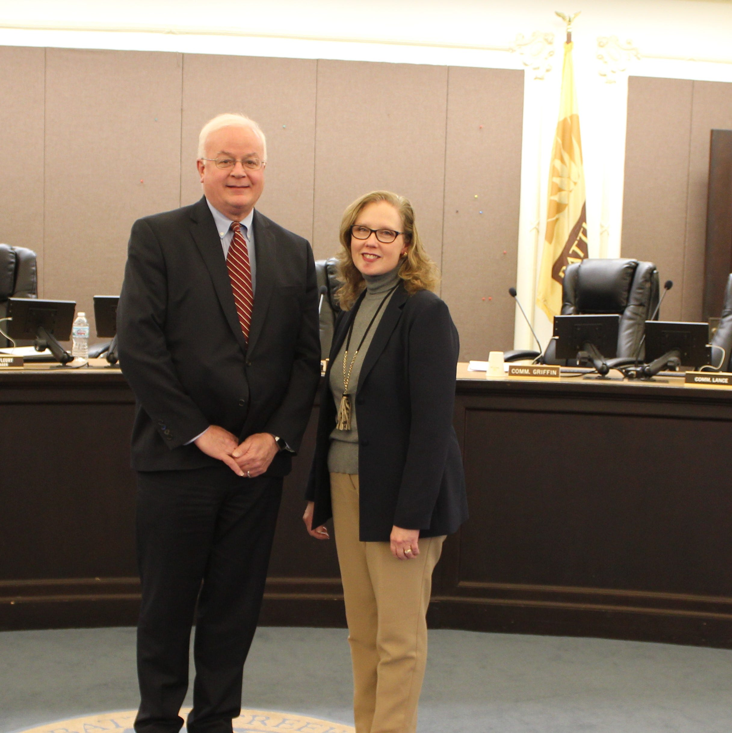 The Battle Creek City Commission appointed Mark Behnke mayor and Sherry Sofia vice mayor at Tuesday night's meeting.
