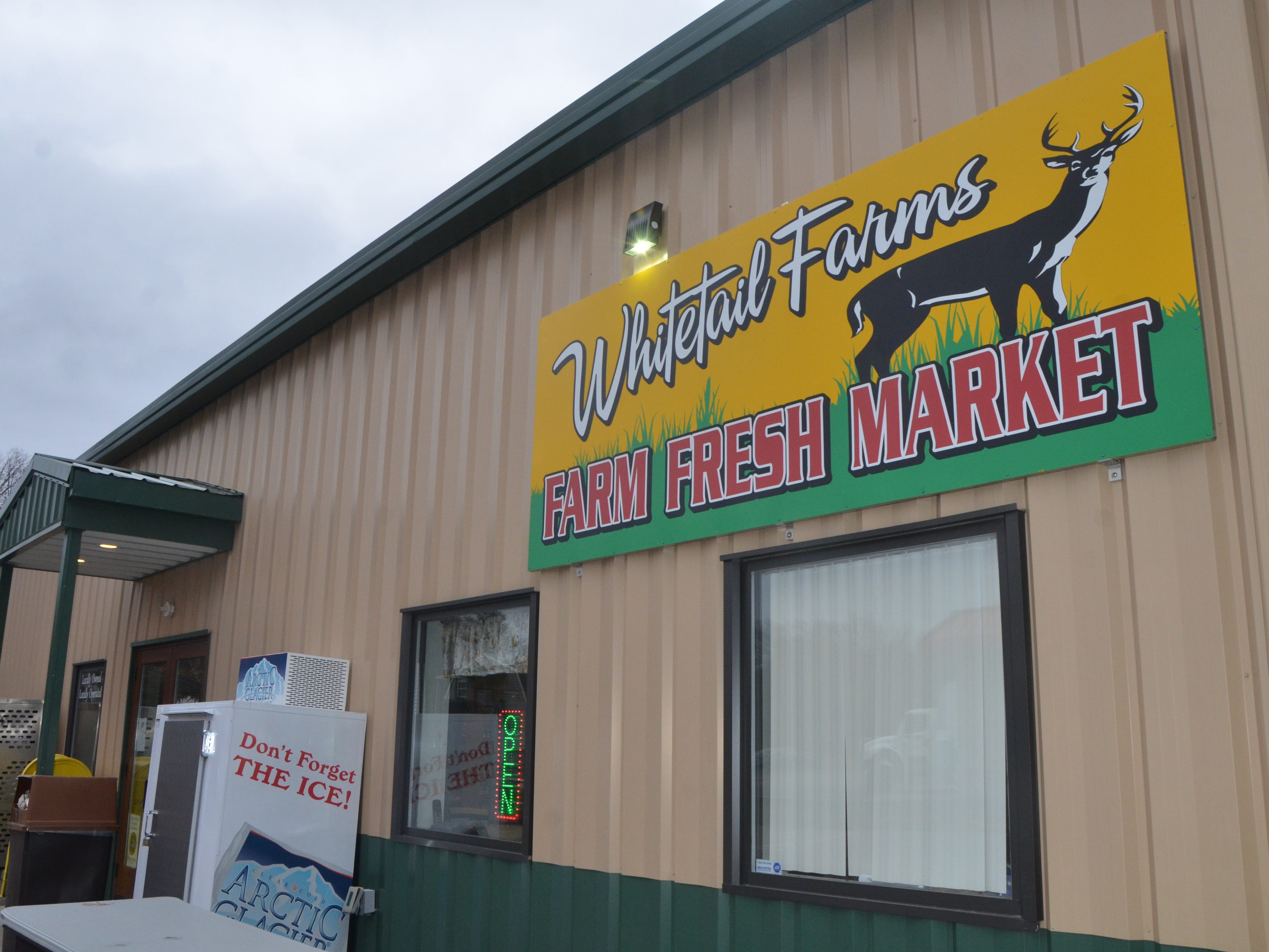 Whitetail Farms is located at 4506 West Butterfield Highway in Olivet.