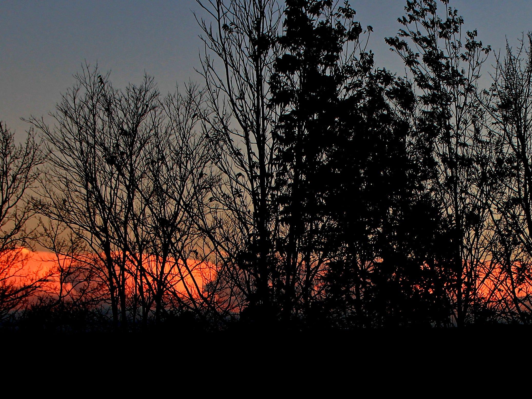 Owego sunset.