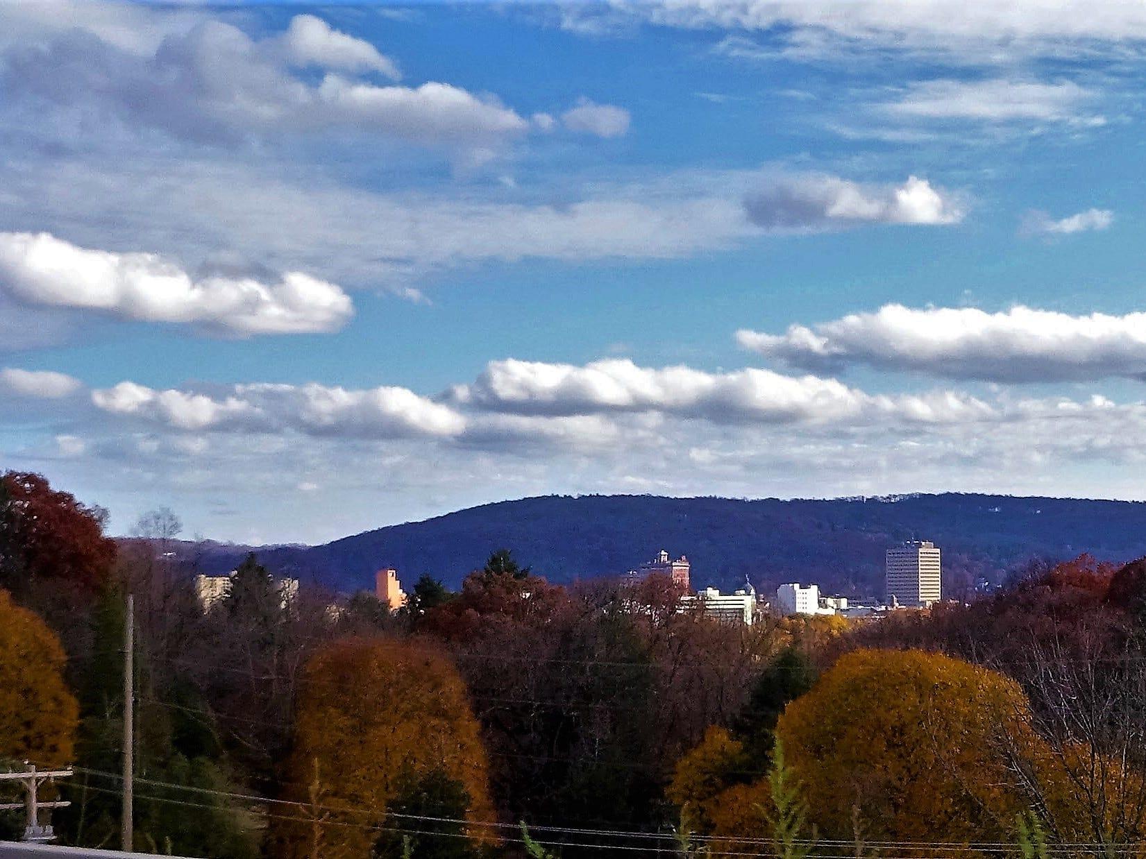 Binghamton skyline.