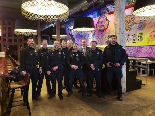 Members of the Binghamton Police Department are continuing to grow their beards for cancer awareness and to raise money for cancer research.