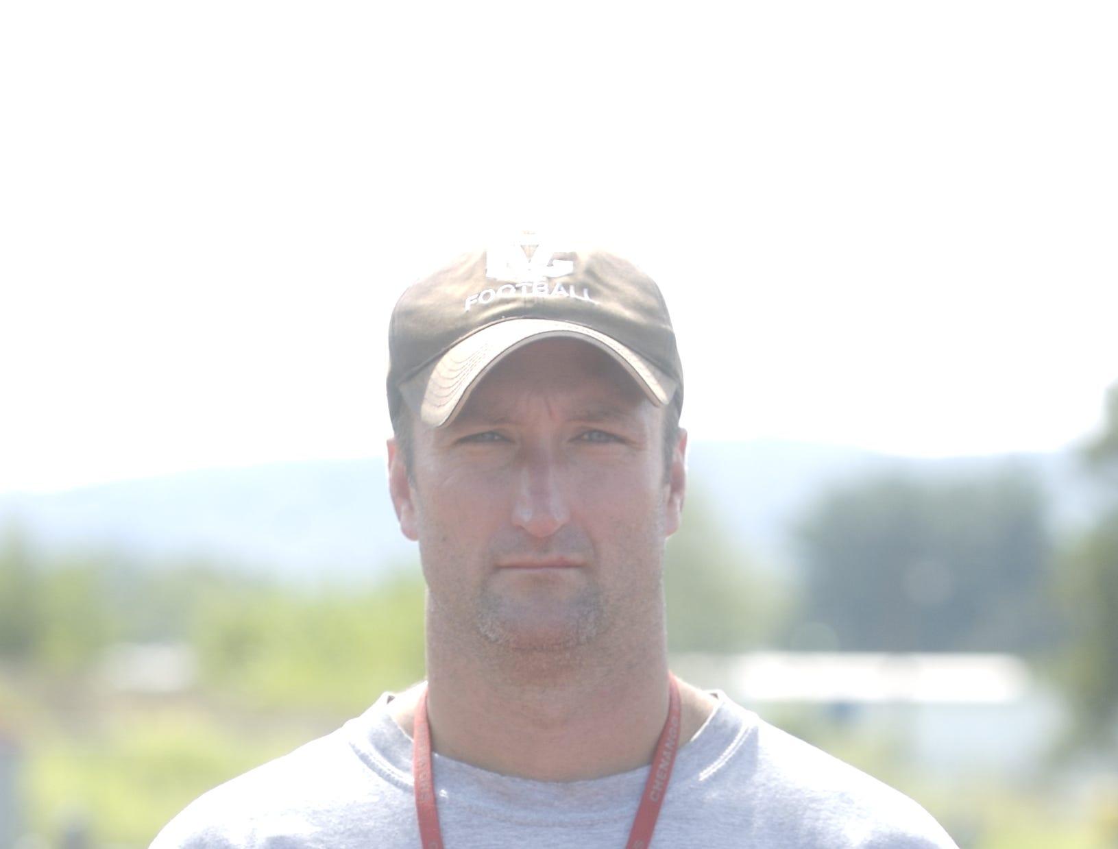 From 2009: Chenango Valley football, Head Coach Jay Hope