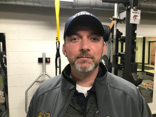 Tioga Central coach Nick Aiello