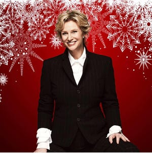 "Jane Lynch brings her ""Swingin' Little Christmas"" holiday show to the Admiral Theatre Nov. 25."