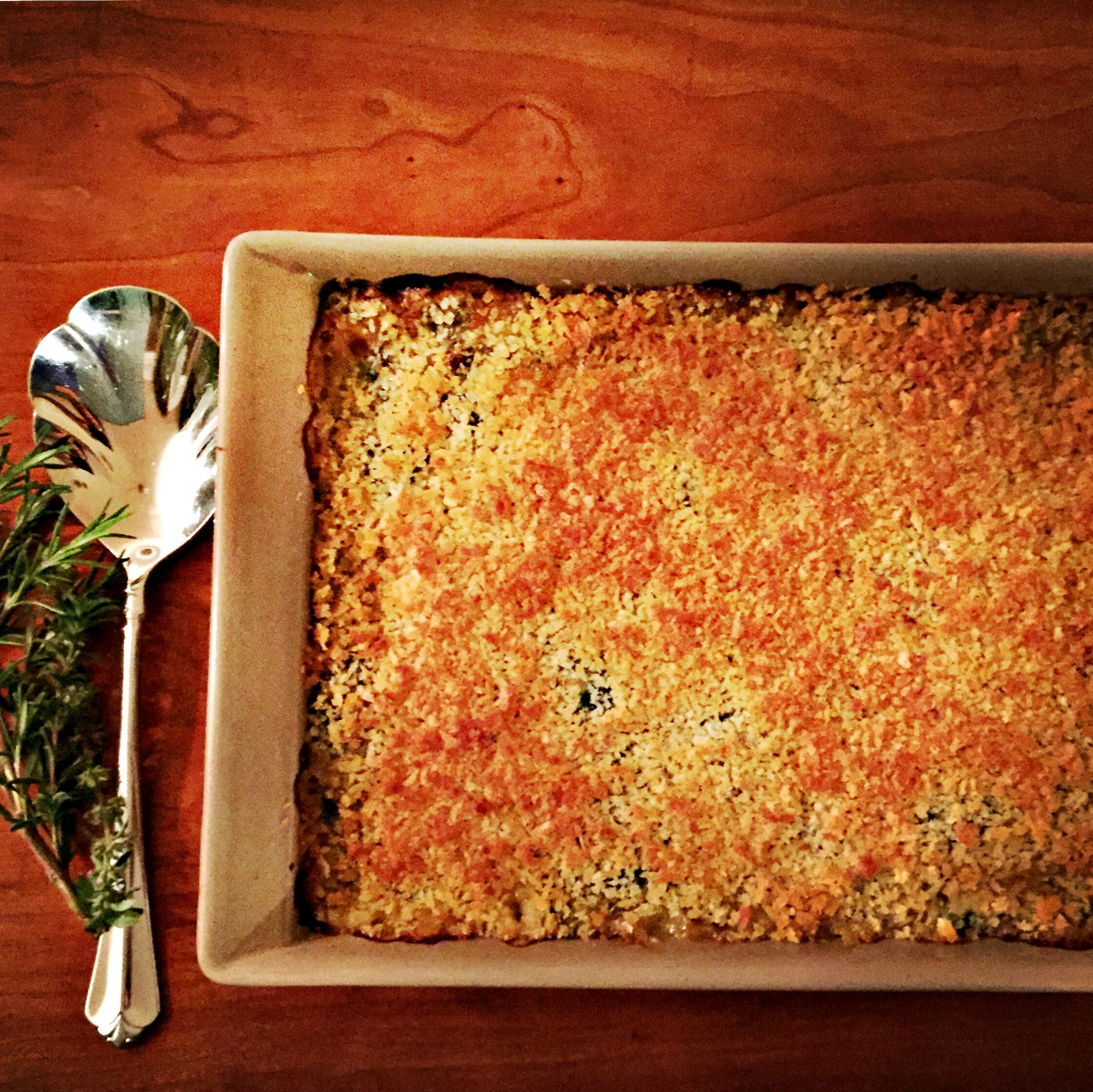 Make-ahead gratin adds some nutrition to Thanksgiving comfort fare