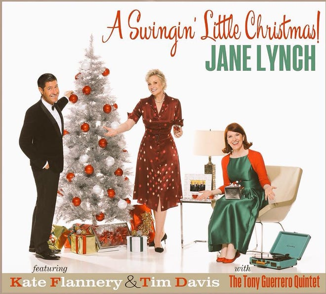 """The """"Swingin' Little Christmas"""" tour headed up by comedienne actress Jane Lynch (of """"Glee"""" fame), stops at the Admiral Theatre Nov. 25."""