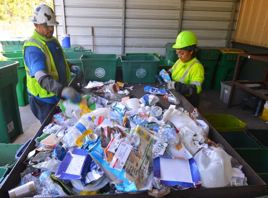 Officials are working to bring recycling back to Westland.