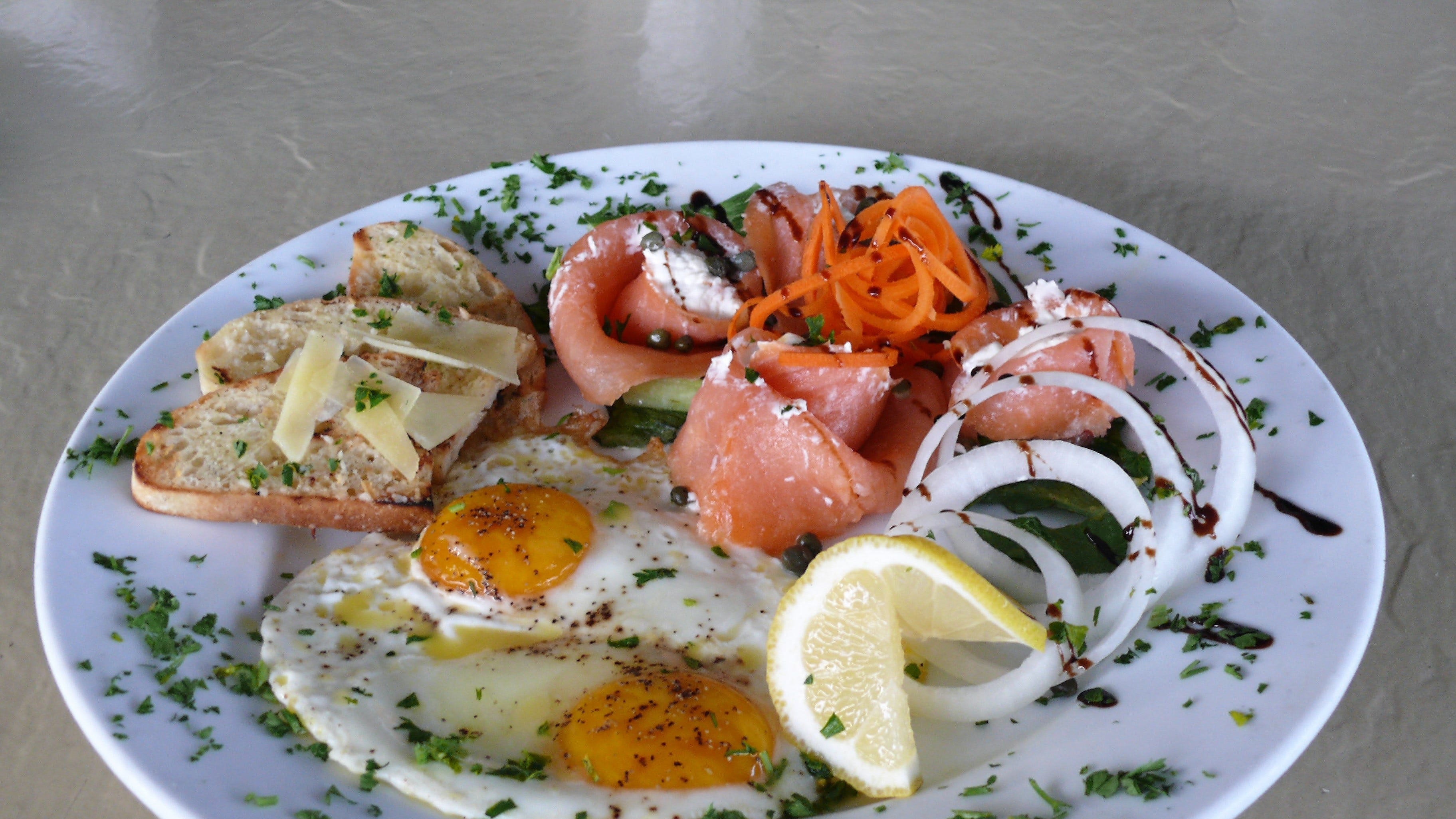 The Smoked Salmon Rose at Fresh Scratch Bistro &...