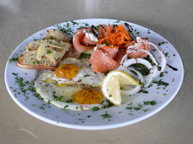 OPEN: The Smoked Salmon Rose at Fresh Scratch Bistro & Lounge in Indian Harbour Beach is a delicious take on a bouquet of flowers.
