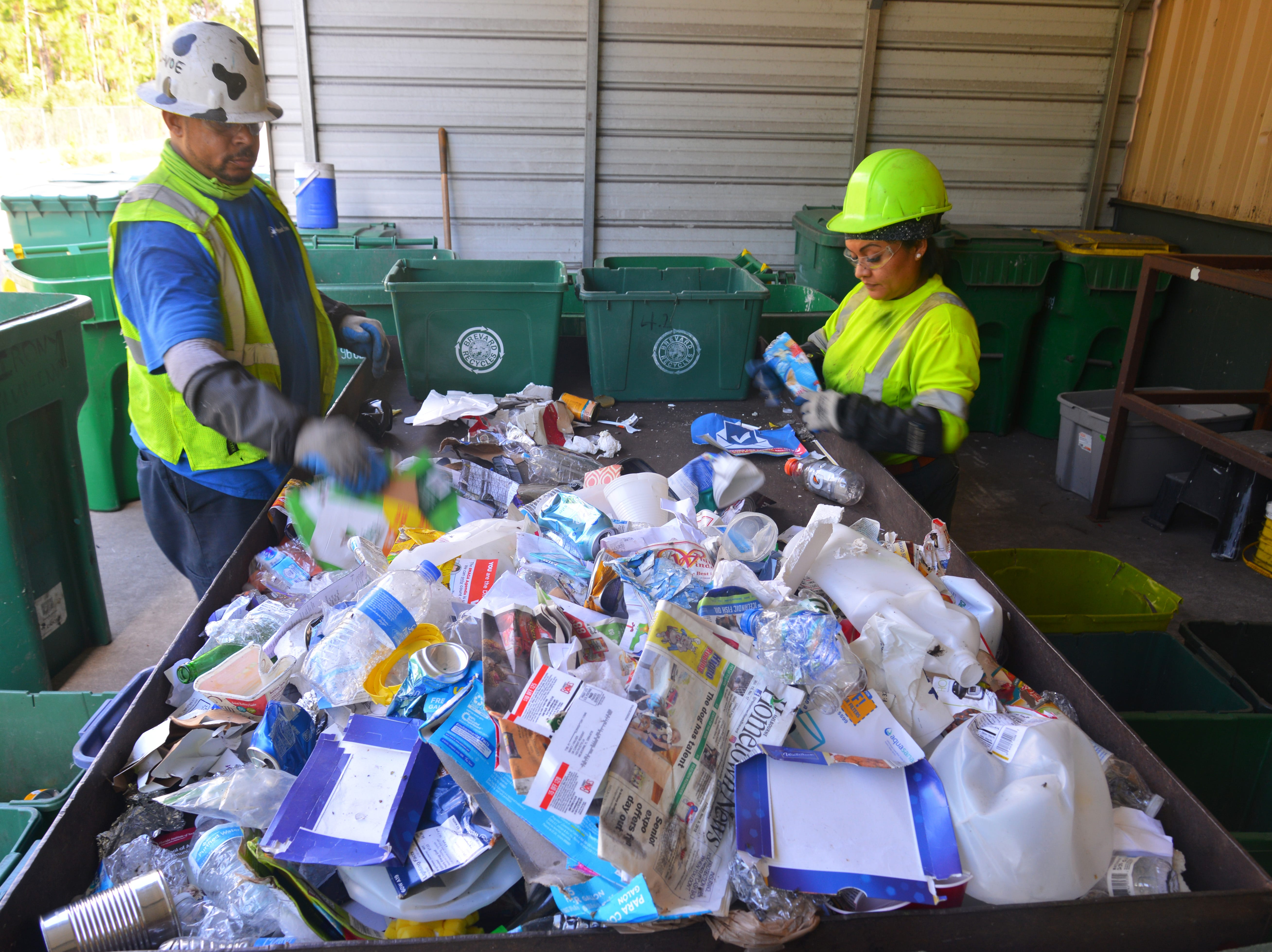 America Recycles Day plea: Keep plastic bags, garbage out of Brevard recycling bins