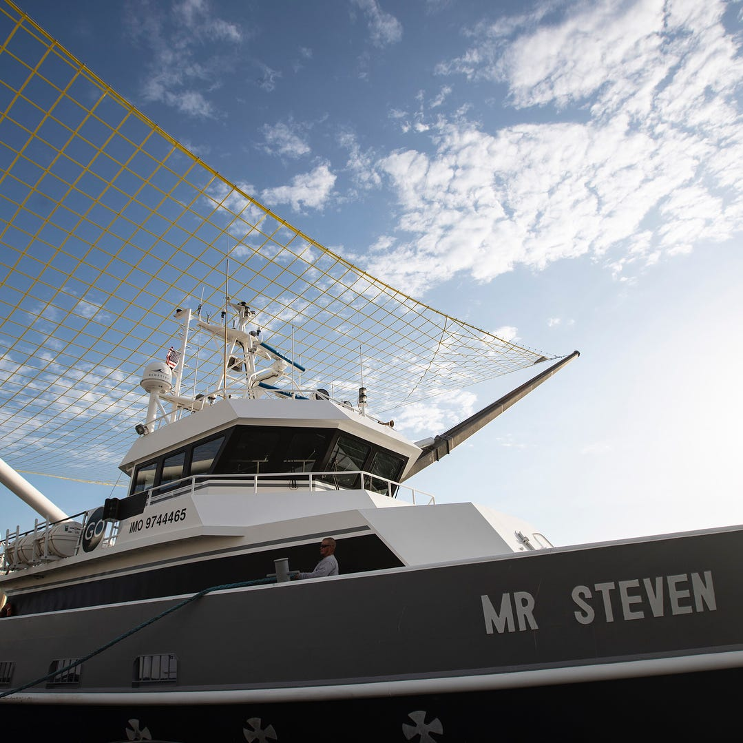 SpaceX's Mr. Steven, a unique fairing-catching ship, could soon make its Florida debut