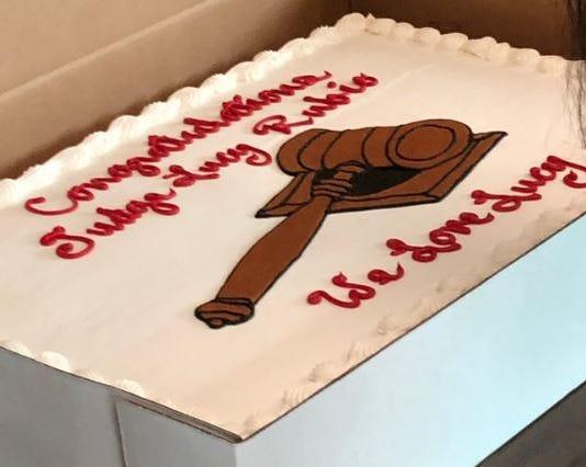 Lucy Rubio New Cake