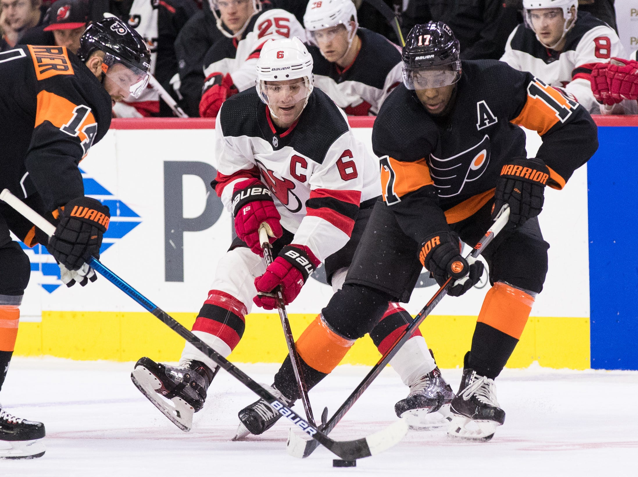 Flyers vs. Devils: Game 19 preview, line combos, broadcast info
