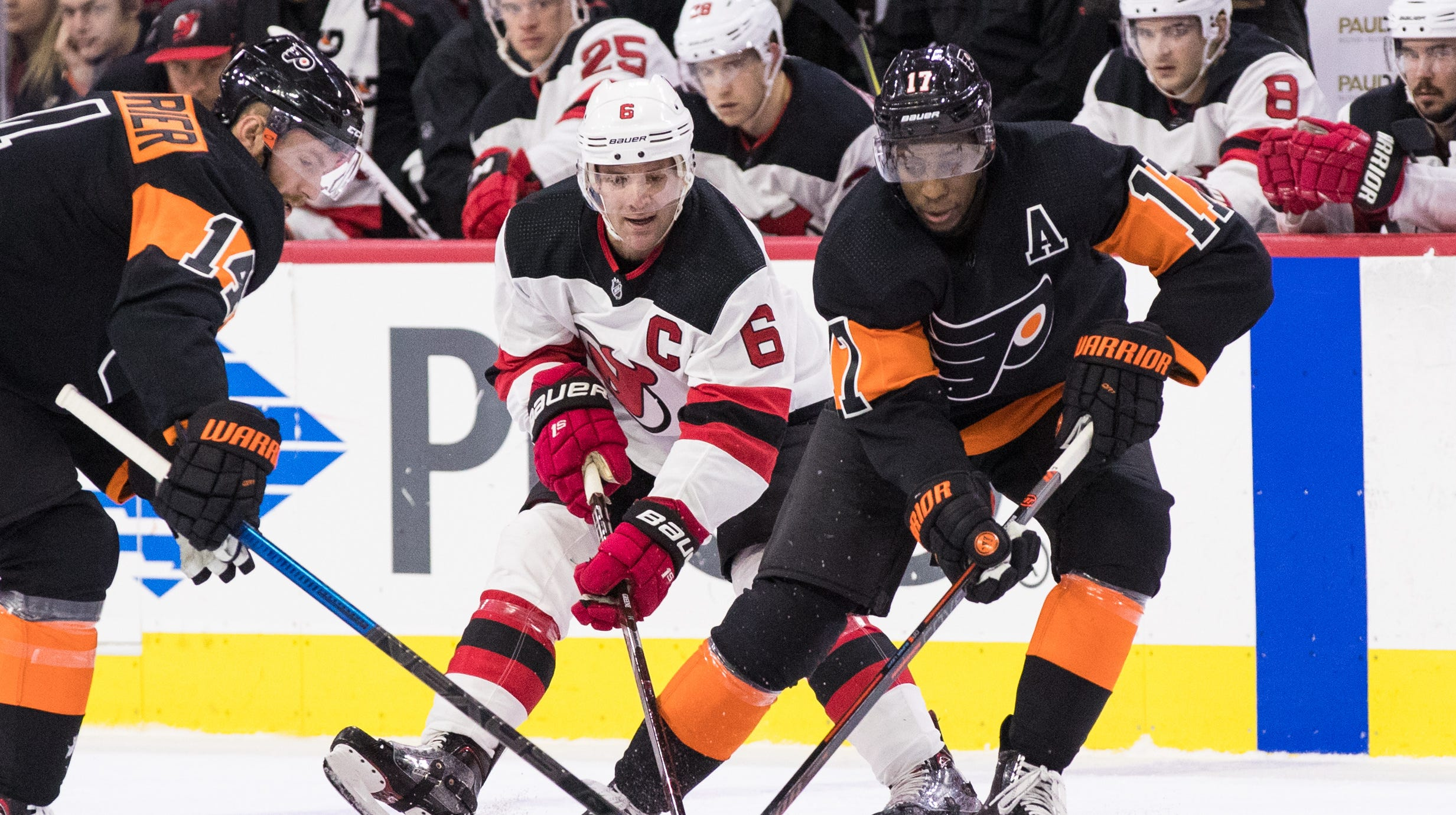 The Flyers beat the Devils once on home ice earlier this season, a 5-2 victory on Oct. 20.