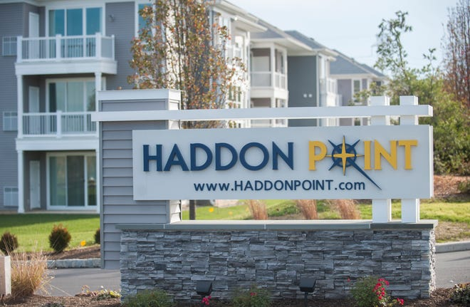 Haddon Point, a large-scale apartment complex located on the former Pennsauken Mart site, opened Wednesday, November 14, 2018.