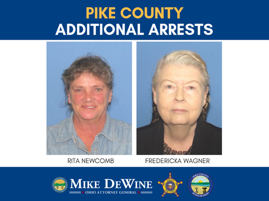 Rita Newcomb and Fredericka Wagner are facing felony charges related to forging custody documents and hindering the investigation into the April 2016 murders of eight Rhoden family members.