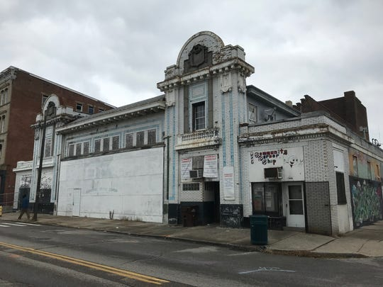 The former State Theater at 1504 Central Ave. in West End is slated to be demolished soon for the new FC Cincinnati stadium. Built in 1914 as the Metropolitan Theater, it is currently home to Lighthouse Worship Center.