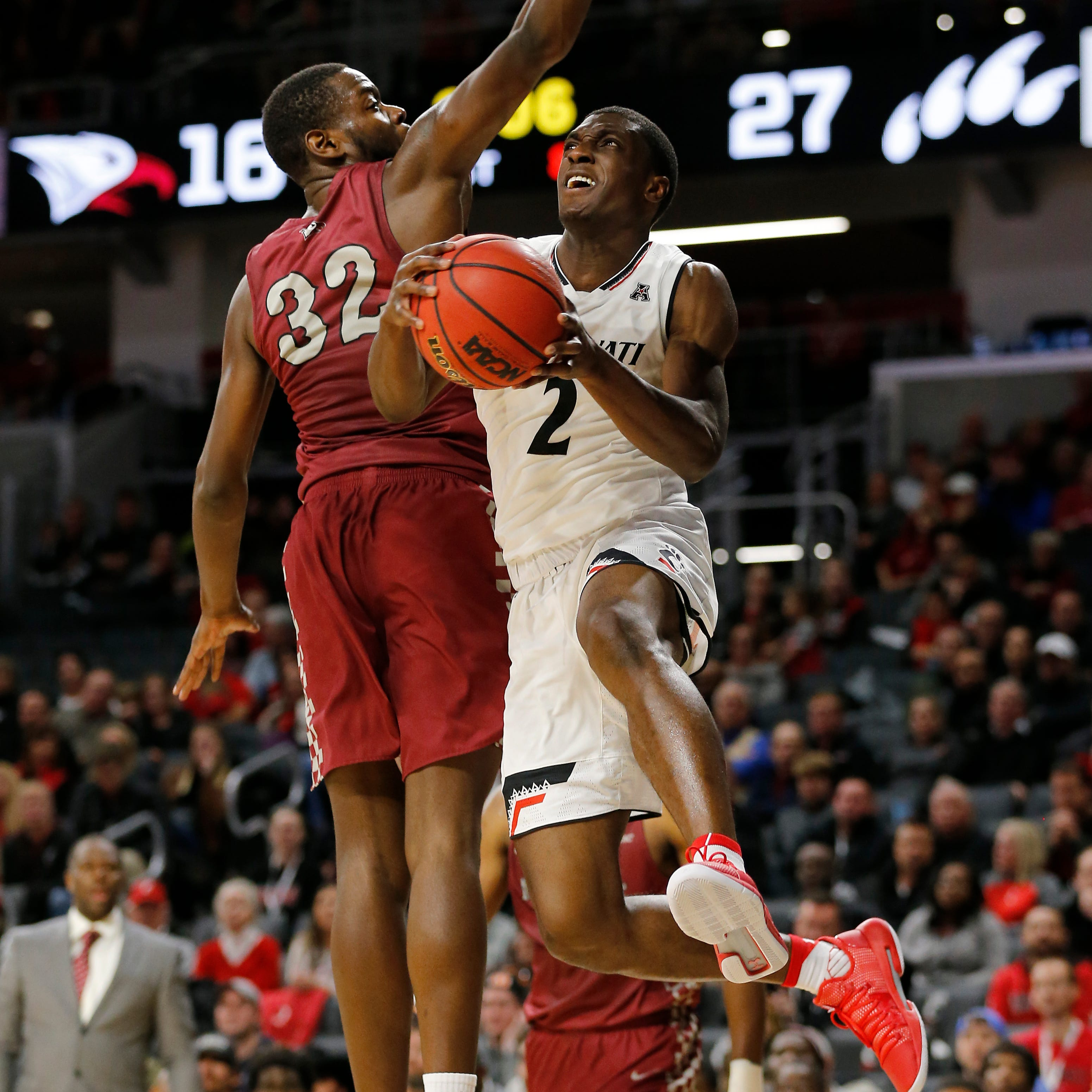 Analysis: Bearcats impose their will on North Carolina Central, win big behind Williams