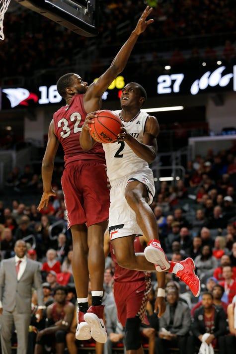 North Carolina Central Eagles At Cincinnati Bearcats Basketball