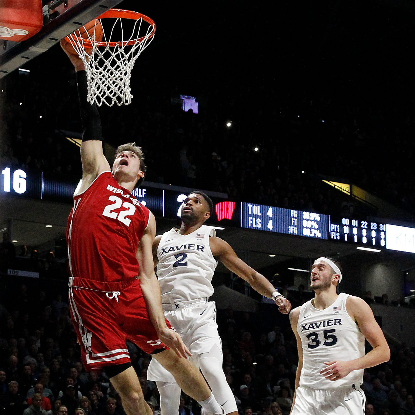 Xavier Musketeers 'fought back' but Wisconsin and Ethan Happ were too much