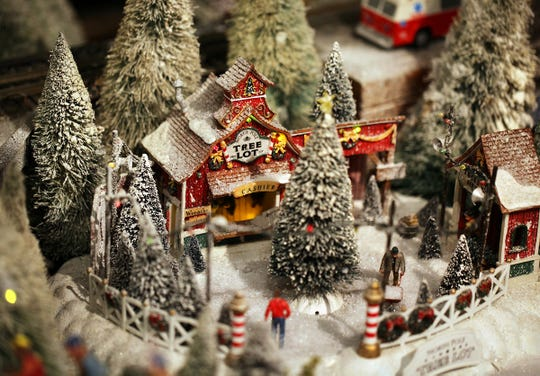 Holiday Junction featuring the Duke Energy Holiday Trains.